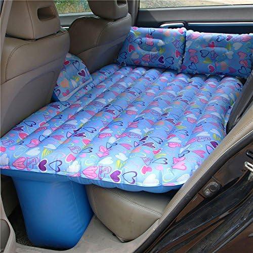 車用ベッド 車の空気のベッド耐摩耗性のオックスフォード布車のインフレータブルベッドロール旅行と睡眠の休息L135cm * W95cm * H43cm (色 : D)