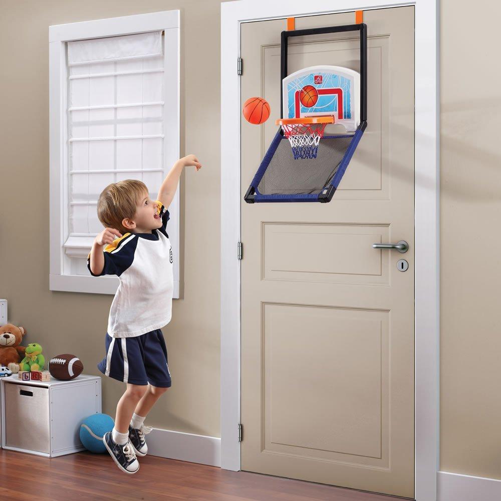 Amazon.com Step2 Floor To Door Toddler Basketball Hoop - Kids Durable Indoor Net Goal Ball Court Toy Multicolor Toys \u0026 Games & Amazon.com: Step2 Floor To Door Toddler Basketball Hoop - Kids ...
