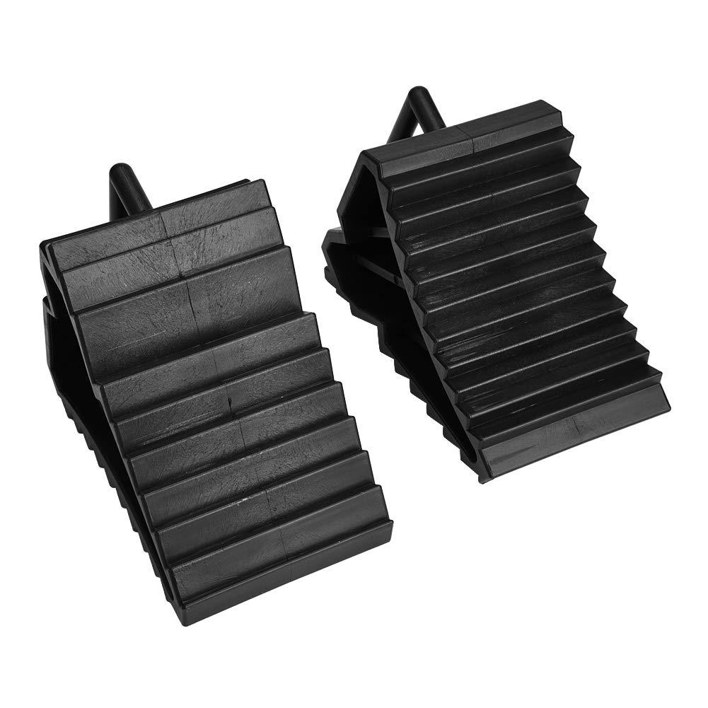 2pcs de voiture anti-d/érapant bloc de pneus antid/érapant pneu bloc de roue bloc dalignement des roues bloc de soutien de pneu Cales de roue pour voitures