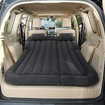 Vinteky SUV Colchón Inflable para Coche Cama con Bomba y Almohadas, Colchon Hinchable de Coche para Descansar, Viajes, Camping, Piscina, Parque, ...