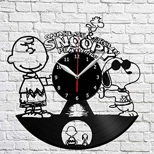 Amazon Com Charlie Brown And Snoopy Vinyl Record Wall