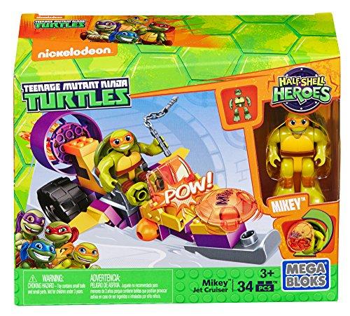Mikey Teenage Mutant Ninja Turtles - Mega Construx Teenage Mutant Ninja Turtles