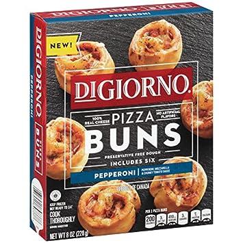 Digiorno Pepperoni Pizza Buns 8 Oz Frozen Amazon Grocery