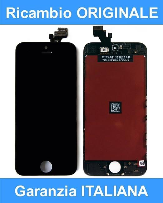 Schermo completo iphone 5 nero