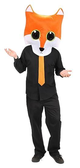 amazon com elope giant fox maskot head by clothing