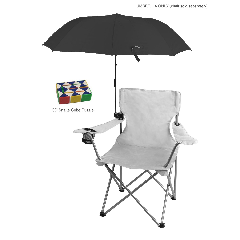 Amazon Com Genesis21 Ozark Trail Chair Umbrella Black With 3d Snake