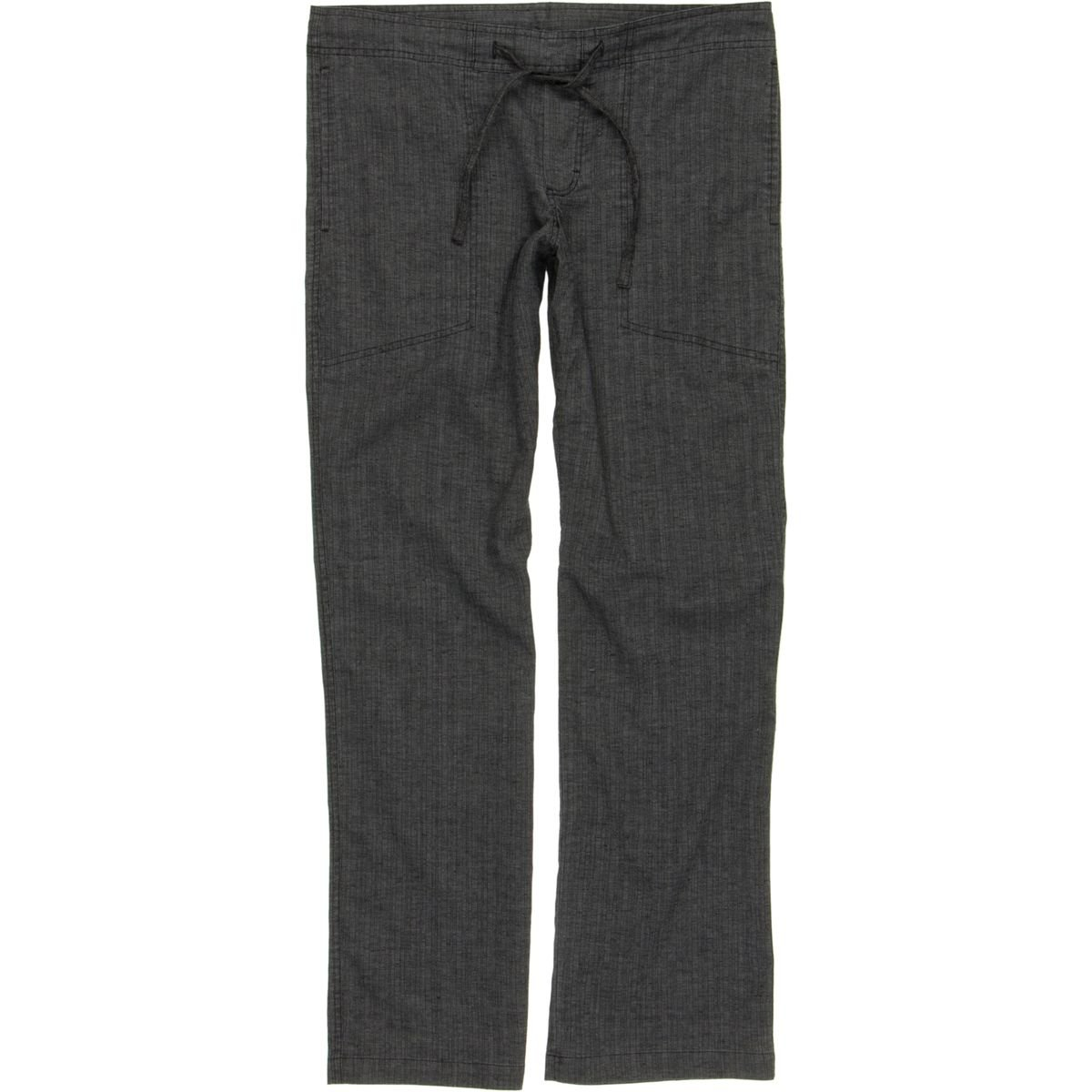 prAna Men's Sutra Pant, Black Herringbone, X-Large