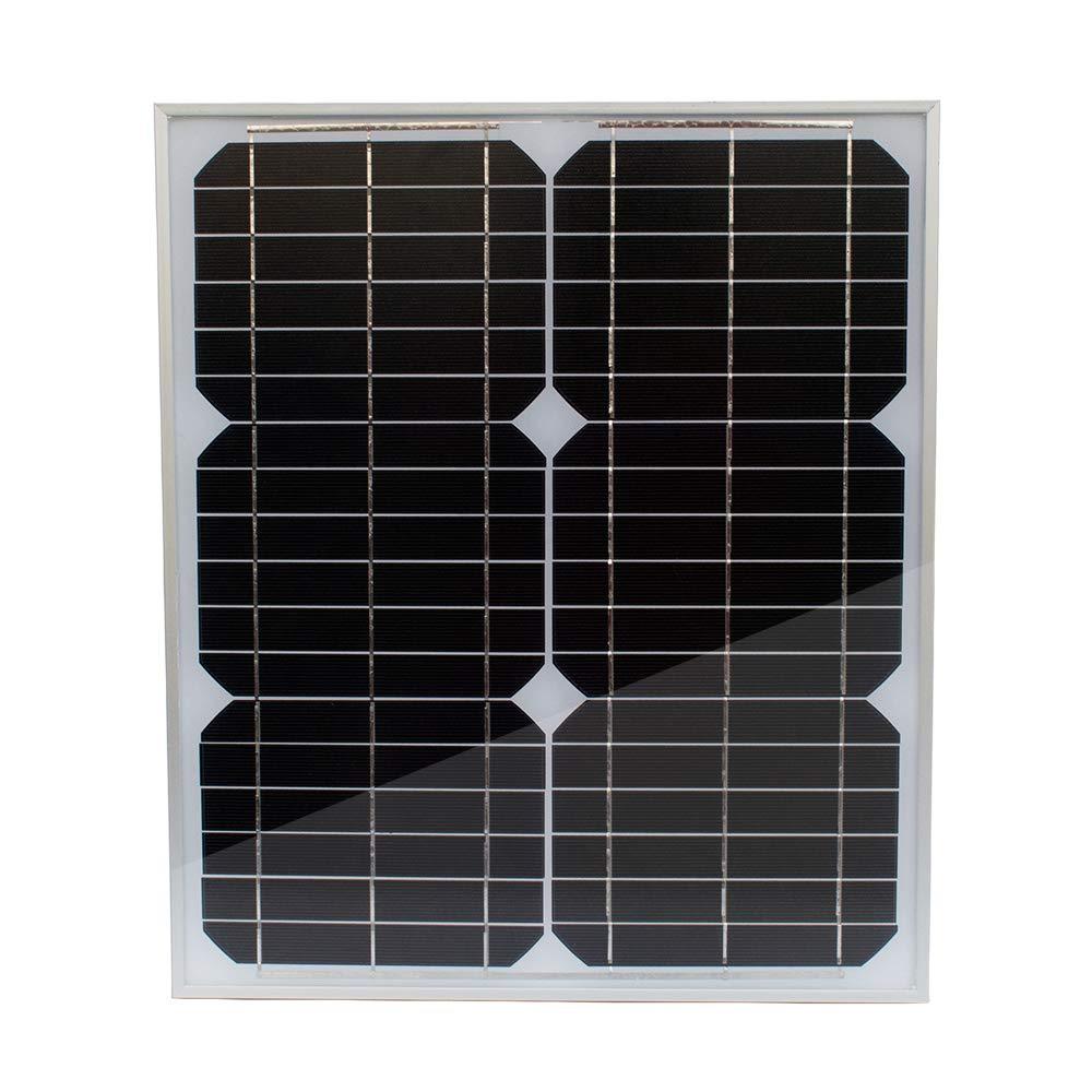 TP-solar Solar Panel 20 Watt 12 Volt Monocrystalline for Rv Marine Boat Off Grid 12V Battery Charging by TP-solar