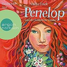 Penelop und der funkenrote Zauber Hörbuch von Valija Zinck Gesprochen von: Sascha Maria Icks