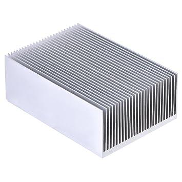 Disipador de calor de aluminio disipador de calor aleta de enfriador de memoria para LED de alta potencia amplificador ...