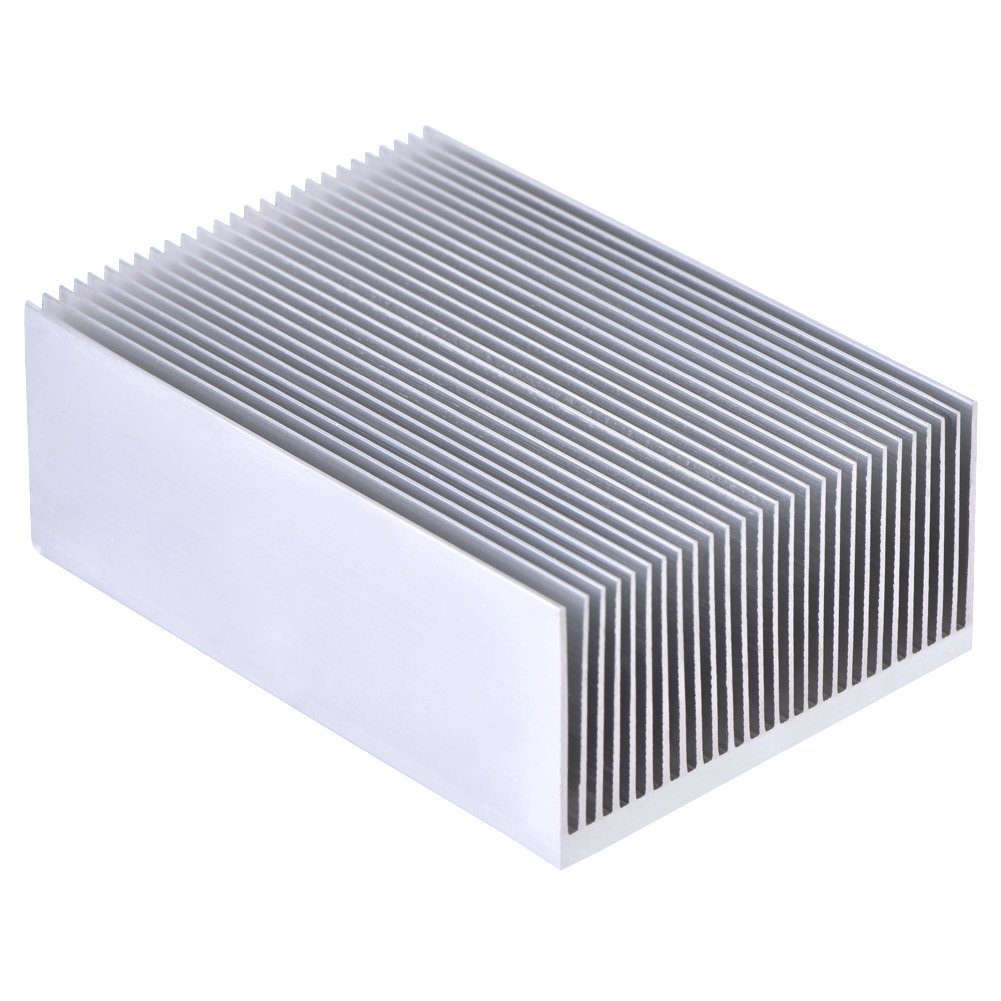 Aluminum Heat Sink Heatsink Module Cooler Fin for High Power Led Amplifier Transistor Semiconductor Devices with 23 pcs Fins 3.93''(L) x 2.71''(W) x 1.41''(H) / 100mm (L)x 69mm(W) x 36mm(H)