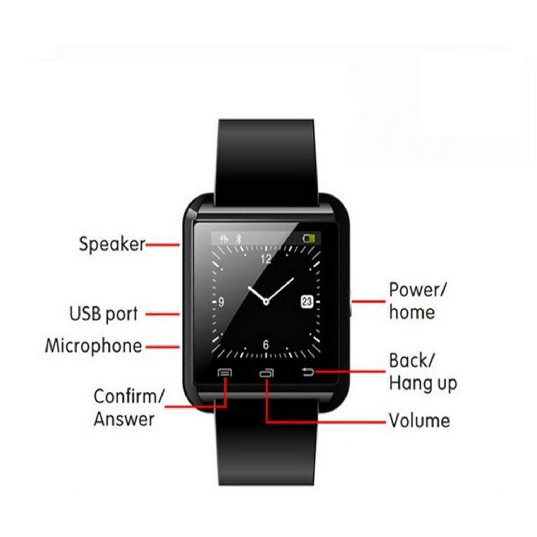 SmartWatch Bluetooth Reloj Inteligente Android iOS, letopro ...