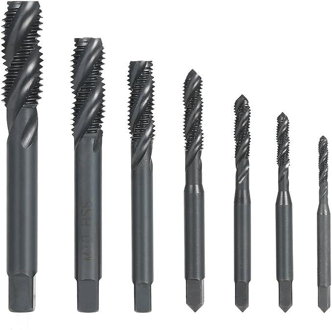 DWT Series Drill America m12 x 1.25 High Speed Steel 3 Flute Spiral Point Tap