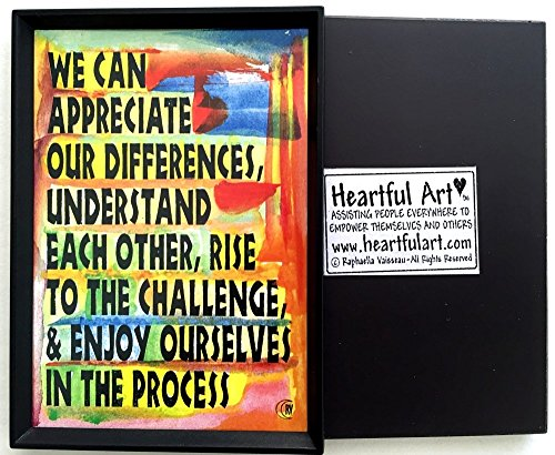 What We Can Do 2x3 magnet - Heartful Art by Raphaella Vaisseau ()