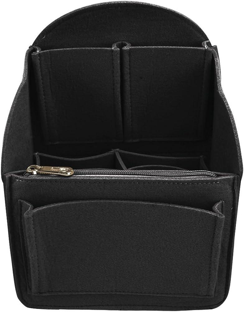 a925b6581a2c Felt Backpack Insert Organizer Universal Bag in Bag Men Women Shoulder Tote  Bags Handbag Organizers