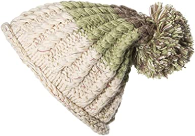 Winter Hats for Women Cable Knitted Bobble Hat Plain Mens Womens Beanie Warm Winter Pom Wooly Caps