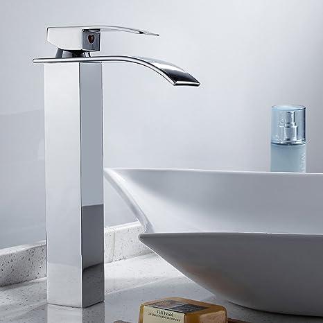 Bekannt Wrighteu Waschtischarmatur Waschbeckenarmatur mit Wasserfall YD94