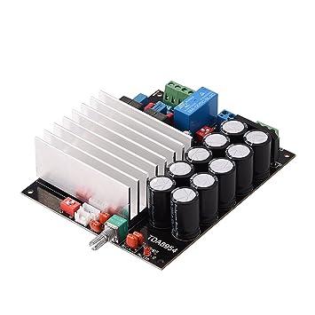 TDA8954 Placa de Amplificador de Potencia de Audio 210W + 210W Módulo de Amplificador Digital de Clase D de Doble Canal D: Amazon.es: Electrónica