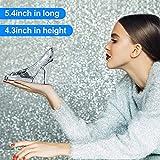 Tiktalk Cinderella Glass Slipper Crystal High Heels