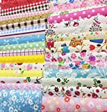 levylisa 200 PCS 4'' x 4''100% Precut Cotton Fabric