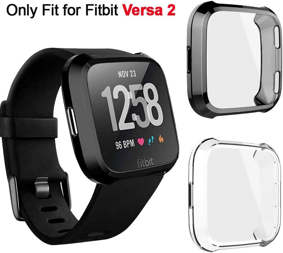 Funda de carcasa Compatible con Fitbit Versa 2 . 2un