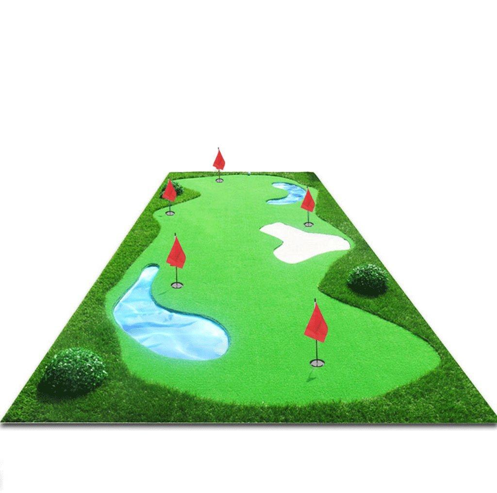 Dgfゴルフマット、インドアPractice Blanket ( l300 cm w150 cm )送信パター+ボール B078K9821S