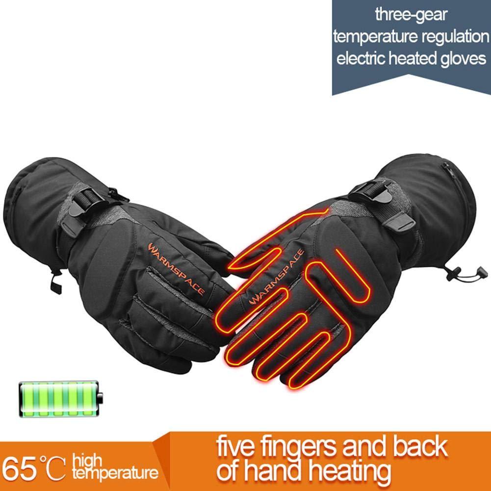 3 Niveaux Temp/érature Protection Pour Moto Motocross Scooter /écran Tactile Gants Moto Chauffants Homme Tactile Gants Gants Moto Hiver Imperm/éable For Homme Gants Moto Chauffants Avec Batterie