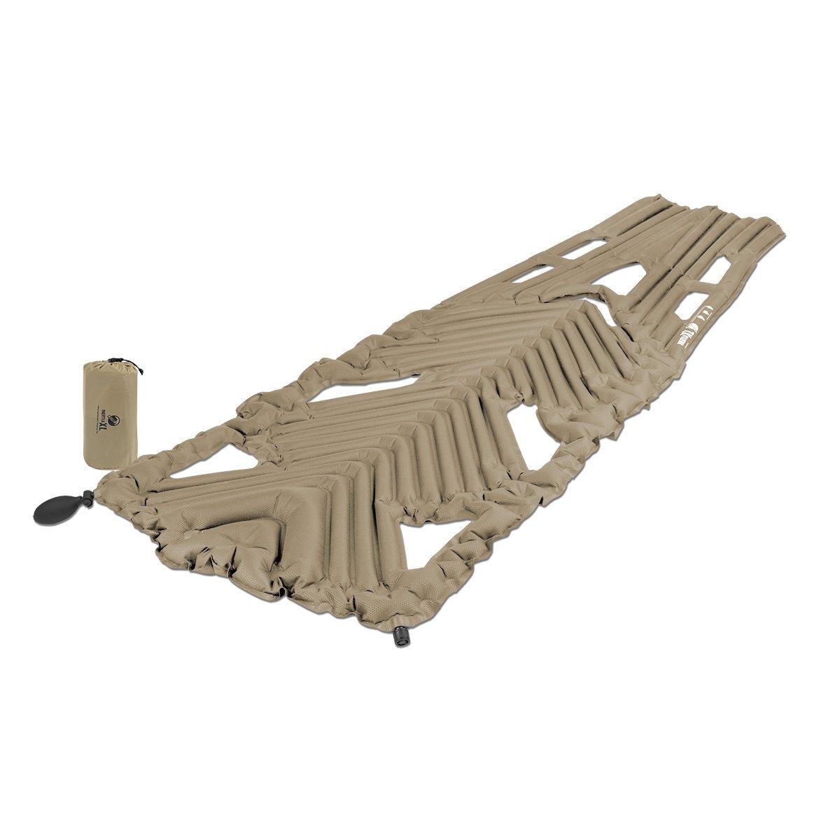Klymit Aufblasbare Outdoor Campingmatte Luftmatratze Inertia XL Recon, 002218