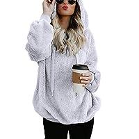 Sweatshirt CIELLTE Femme Manches Longues 2018 Mode Pull Couleur Unie Branché Hoodies Automne Hiver Extensible Blouses Occasionnels Loisir