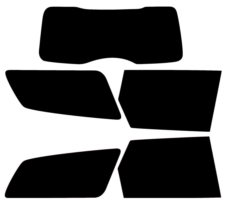 PSSC Pre Cut Rear Car Window Films - Volvo V50 Estate 2004-2011 20% Dark Tint PSSC Window Film