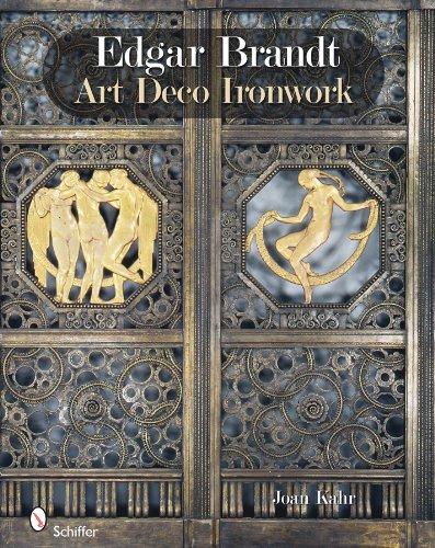 Edgar Brandt Art Deco Ironwork [Joan Kahr] (Tapa Dura)