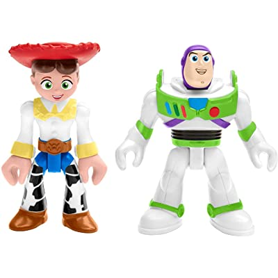 Fisher-Price Imaginext Toy Story Buzz Lightyear & Jessie, Multicolor: Toys & Games