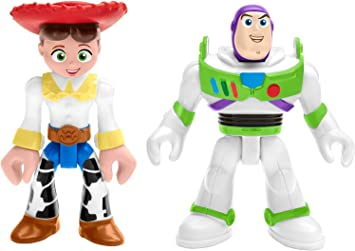 Toy Story Fisher-Price Disney/Pixar Imaginext 4 Buzz & Jessie 2 ...
