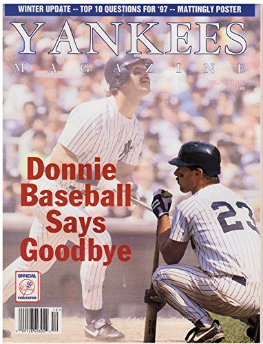 Yankees Magazine, Volume 17, No. 12, March 1997 - Donnie Baseball Says Goodbye - Tim Wood Baseball