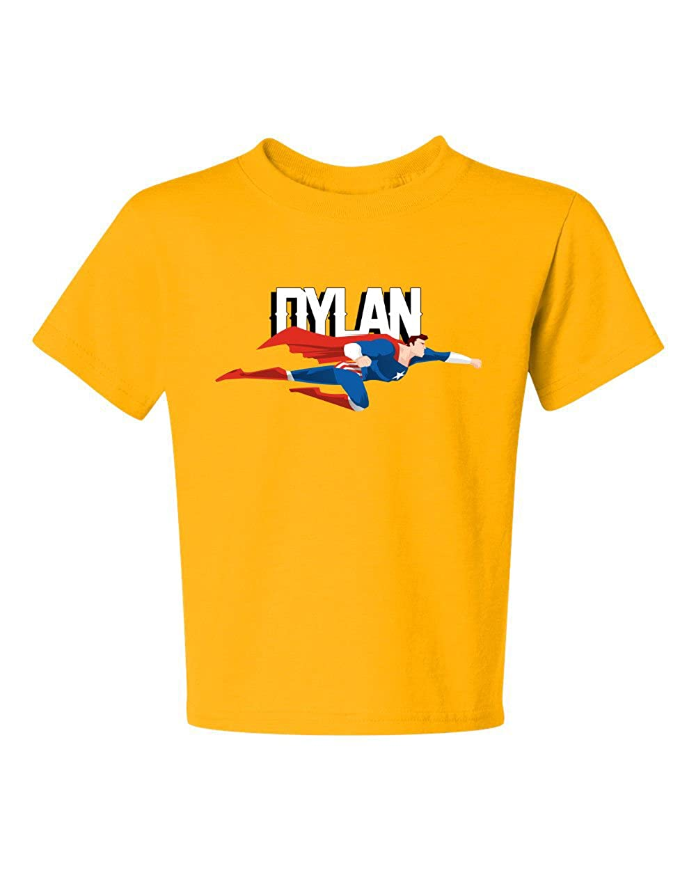 Amazon Custom T Shirt Boys Superhero Shirt With Name Clothing