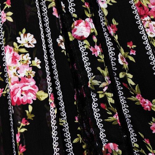 Corte de conejo Mini Skirt edwina Rock - Colour negro negro