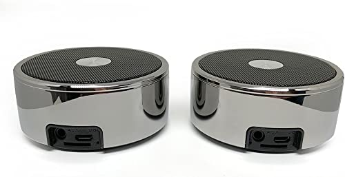 True Wireless Speakers Twin Portable TWS Bluetooth Mini Stereo Speaker Dual Set Big Bass for Apple iPhone iOS Google Android Samsung Galaxy Nexus Smart Phones Laptops MAC PC Tablets Smartphones Echo
