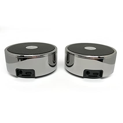 True Wireless Speakers: Twin Portable TWS Bluetooth Mini Stereo Speaker  Dual Set Big Bass for Apple iPhone iOS Google Android Samsung Galaxy Nexus