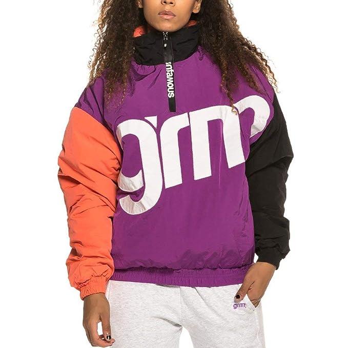 Grimey Flamboyant Pullover Chaqueta Mujer Morado XXS (XX ...