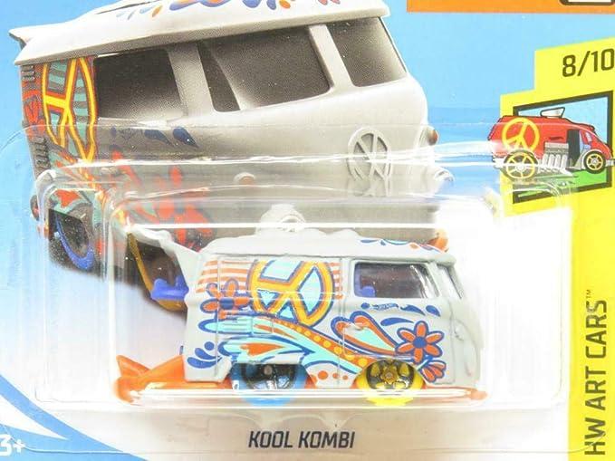 Bus 353//365 Hot Wheels 2018 Art Cars 8//10 KOOL KOMBI Volkswagen Van
