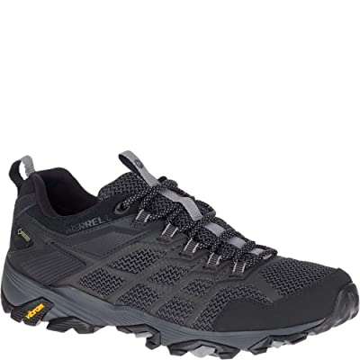 Merrell Moab FST 2 Low Gore TEX Men's Black Hiking Shoes Size 12.5 | Hiking Shoes