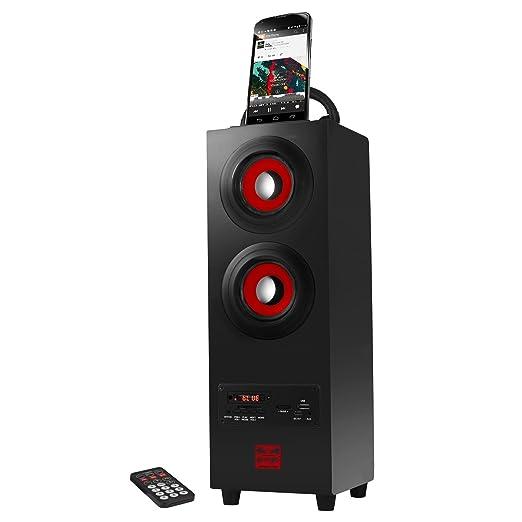 57 opinioni per PSYC Sumvision Speaker Wireless Bluetooth Portatile, Corpo Stile Tower, per
