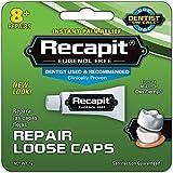 Recapit Loose Cap Dental Repair - 8 Repairs, Pack