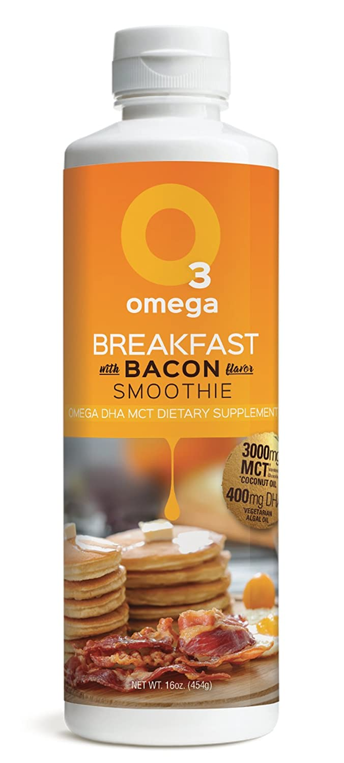 Amazon.com: O3Smoothies Omega DHA MCT Multi-serving Smoothie (Breakfast): Health & Personal Care
