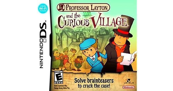 Professor Layton and The Curious Village (Nintendo DS) [Importación inglesa]: Amazon.es: Videojuegos