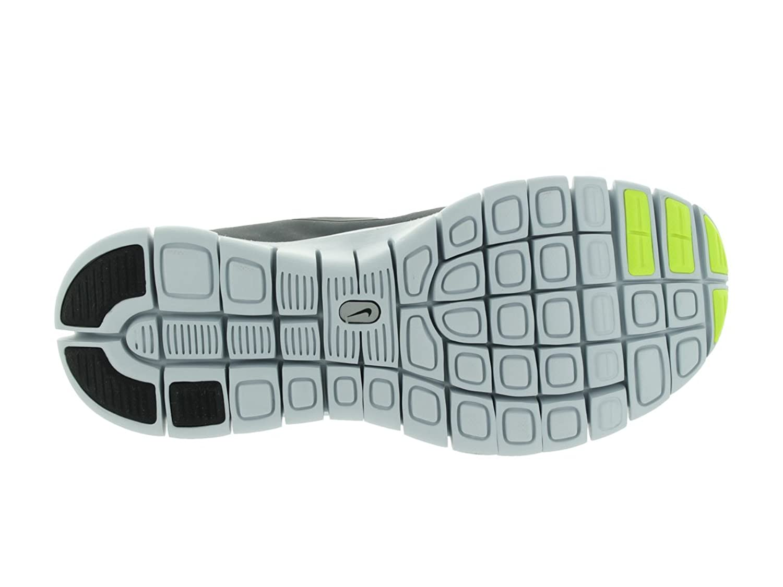 Details about Nike Free Run 5.0 SZ 7Y Volt Cool Grey Pure Platinum Black 580558 701