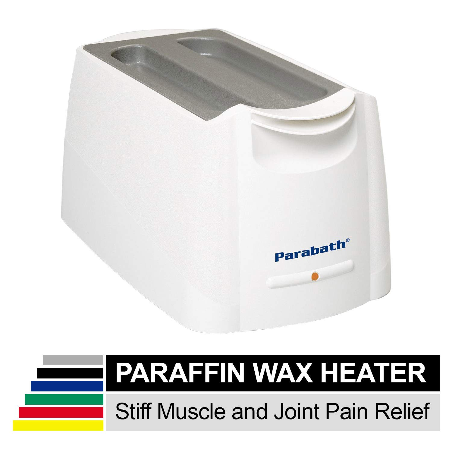 Parabath Paraffin Wax Bath, Large Wax Warmer for Heat Therapy, Wax Melter Works to Relieve Pain for Feet, Hands, Arthritis, Large TheraBand Paraffin Wax Dip Heating Machine by Parabath