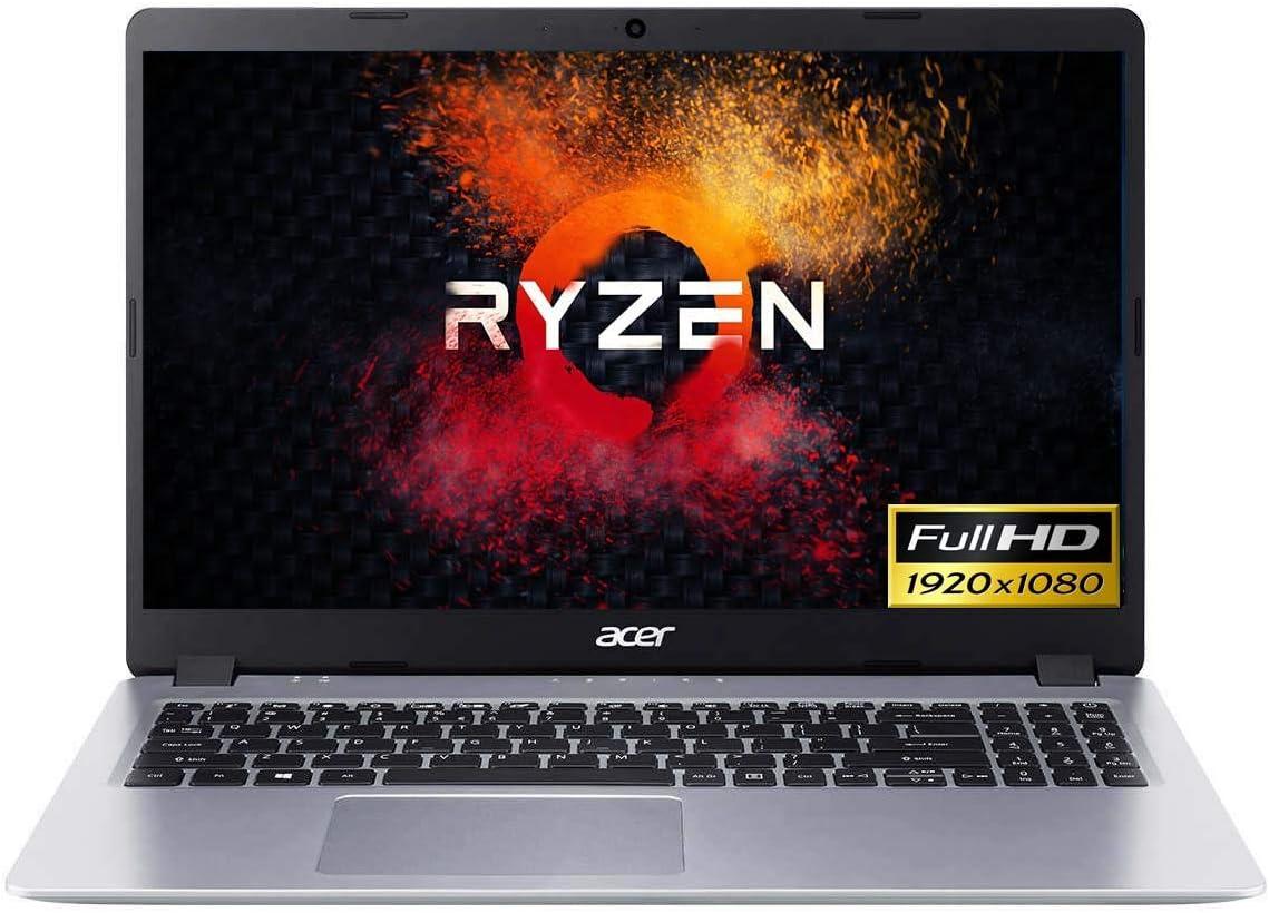 Newest Acer Aspire 5 A515-43 Slim Laptop in Silver Ryzen 3 up to 3.5GHz 128GB SSD 15.6in FHD Backlit Keyboard Web Cam HDMI W10 (Renewed)