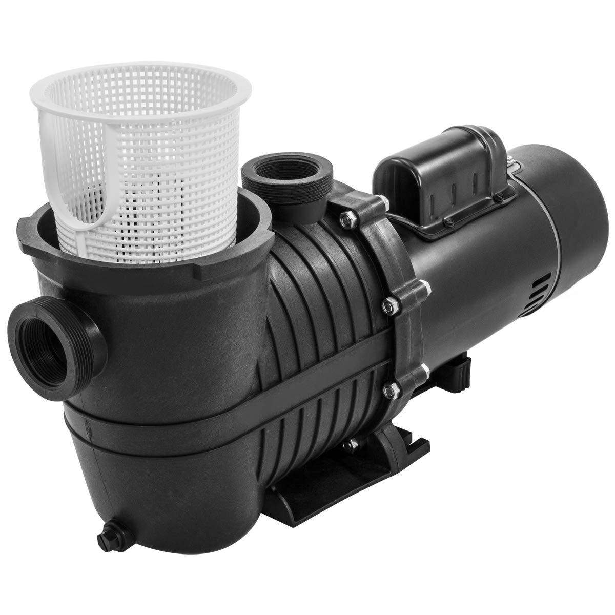 Amazon.com : XtremepowerUS 2HP Swimming Pool Pump (Dual-Speed) 230V ...