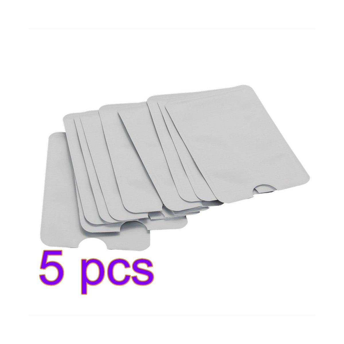ANKKO Reisepass Kreditkarte ID sichern Protector-Anti-Diebstahl-RFID blockieren Sleeve Shield-Card-Inhaber (10 Stück)